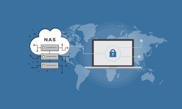 schemat działania serwerów NAS
